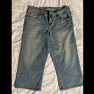 INC denim capris
